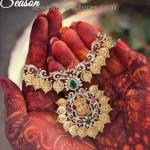 Designer Lakshmi Kasu Necklace