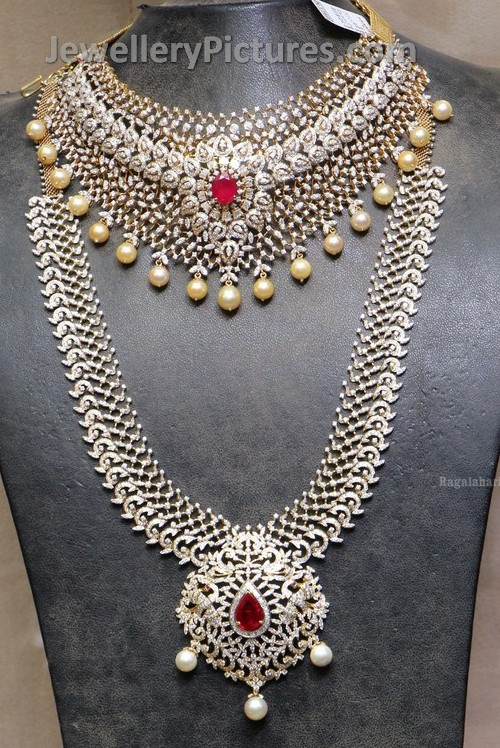 Indian diamond jewellery designs jewellery designs indian diamond jewellery aloadofball Choice Image