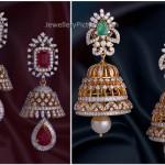 Diamond Jhumkas latest collection
