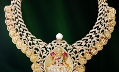 diamond lakshmi kasumala set
