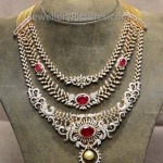 Tripple Layer Diamond Necklace