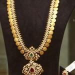Diamond Kasula Haram with Diamond Pendent