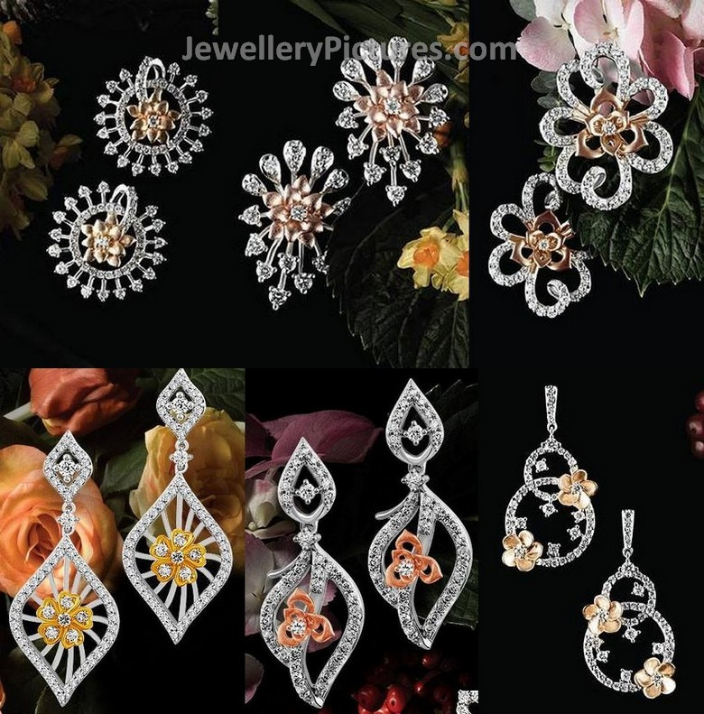 Tanishq Diamond Studs - Jewellery Designs