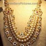 Gold and Uncut diamond Bridal jewellery