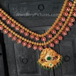 Floral Ruby Necklace beautiful design