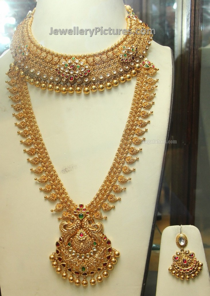 bridal jewellery sets pg gold photo gallery