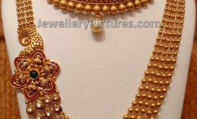 gundla mala gold balla long chain design