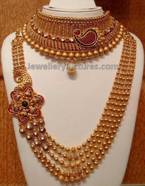 Gundla Mala Or Gundla Haram Design Jewellery Designs