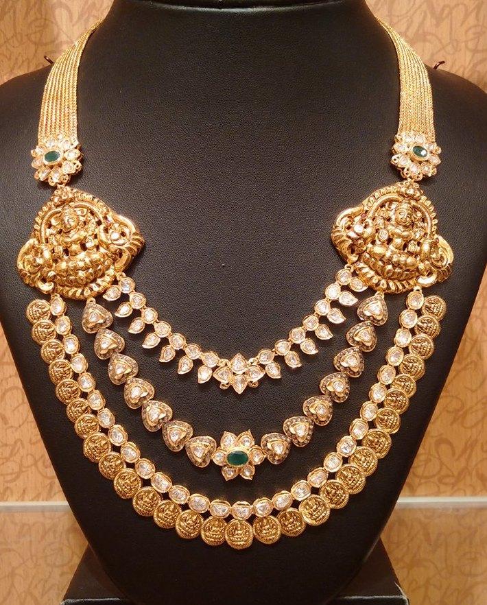 three steps uncut lakshmi kasulaperu haram