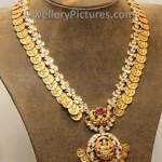 Uncut Diamond Lakshmi Kasulaperu with Pendent