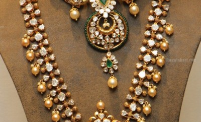 Gold Antique jewellery set