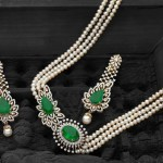 Designer Diamond Pearl set