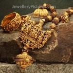 Nakshi work Temple Jewellery set