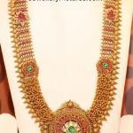 Antique Gold Beads Longchain