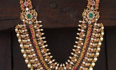 Raani haara studded with gems