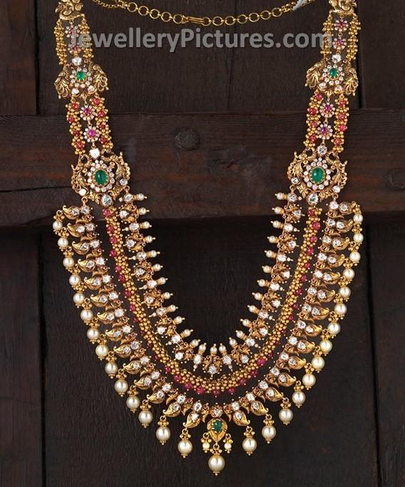 Rani haar studded with gems