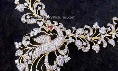designer-diamond-peacock-necklace