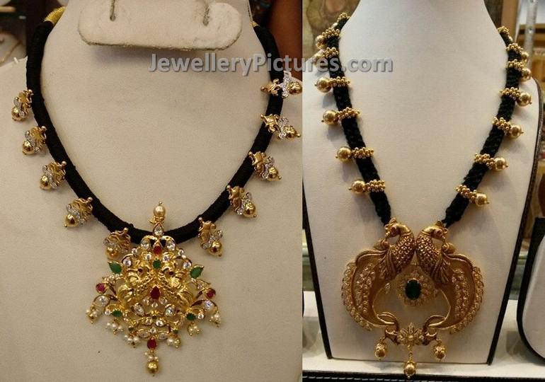 black Dori Muvvala necklace