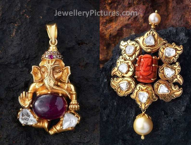 lord ganesha pendants