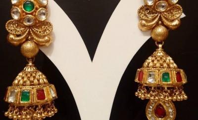 Jimiki Latest Indian Jewelry Jewellery Designs