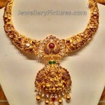 Nakshi Work LakshmiDevi Necklace