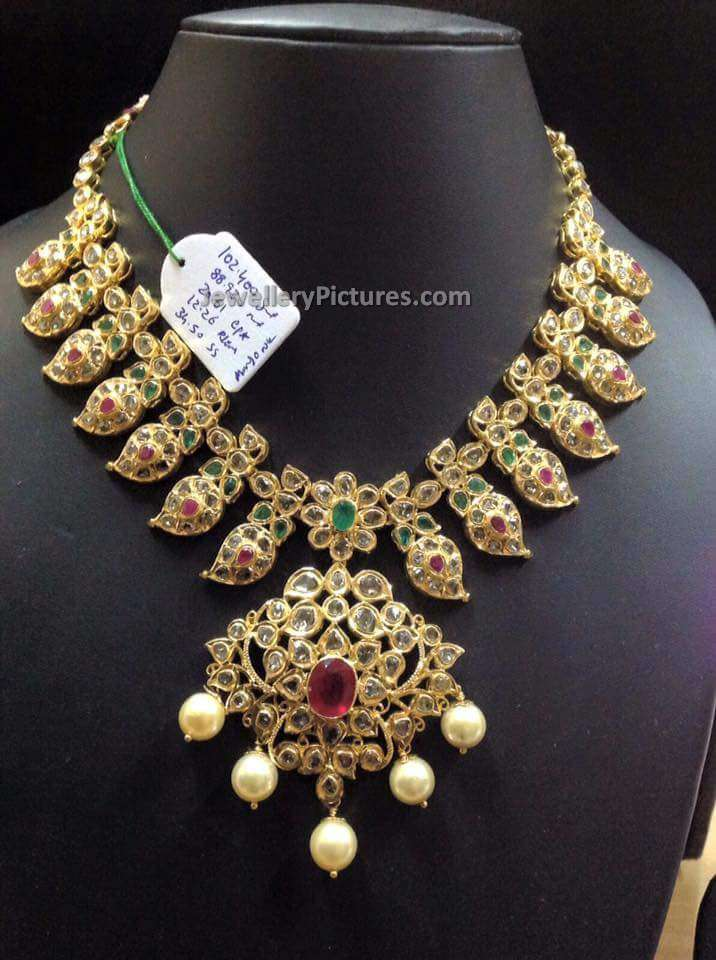 Pachi Necklace Latest Indian Jewelry Jewellery Designs