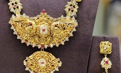 Nakshi Pachi Long chain