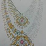Pachi Diamond Bridal Haram