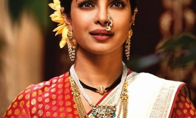 traditional maharashtrian jewellery worn by priyanaka chopra