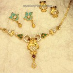 Gold Necklace Designs for Baby Girl