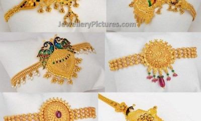 Six Traditional Armlet Models Jewellery Designs
