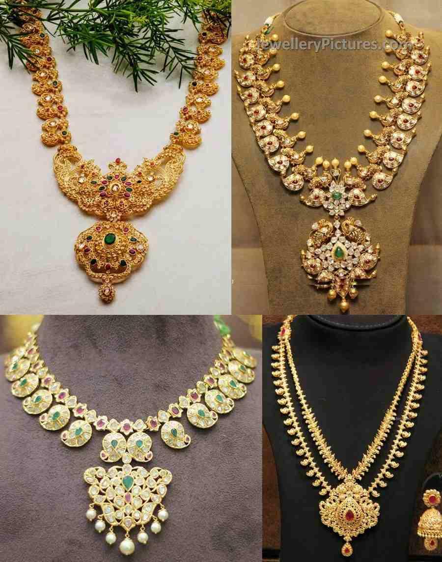 Top Mango Mala Designs Jewellery Designs