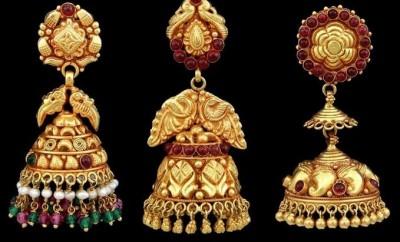 antique designs buttalu earrings