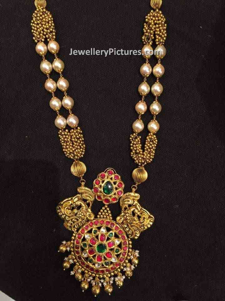 necklace exporter gold long designer