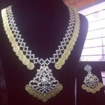 Diamonds Kasula Peru with Earrings