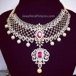 Latest Diamond Necklace Design