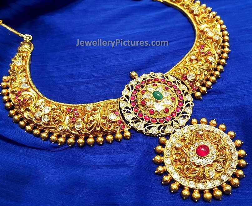 Antique Necklace Designs - Jewellery Designs