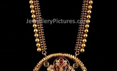 designer pendant gold haram designs catalogue