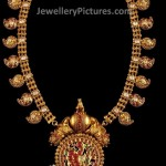 Gold Mango Haram Antique Design