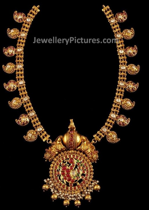 gold mango haram antique jewelry