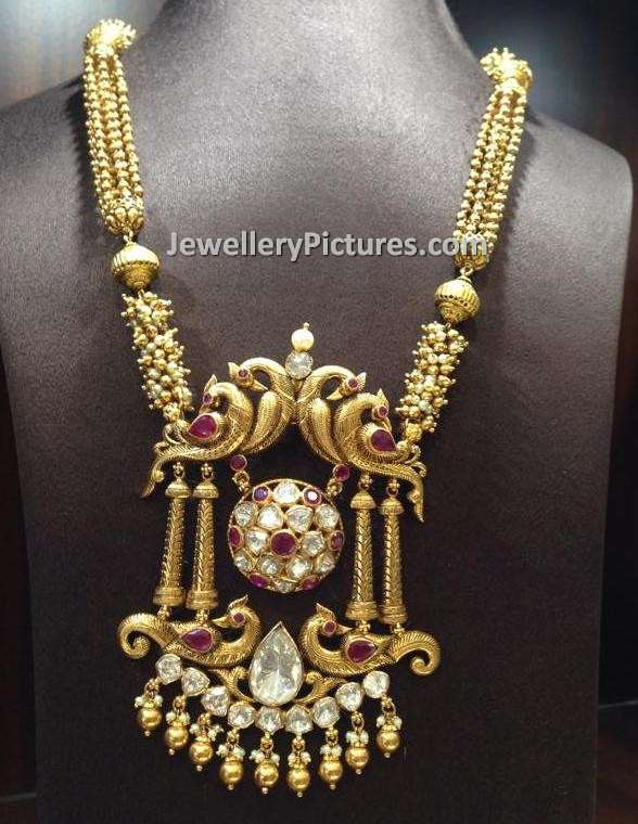 gold necklace designs catalogue jewellery designs