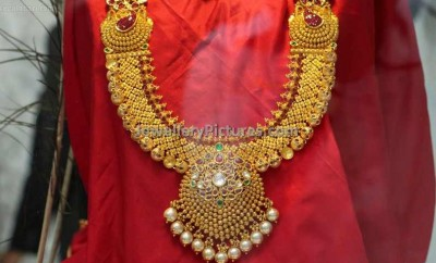 indian gold jewellery complete set