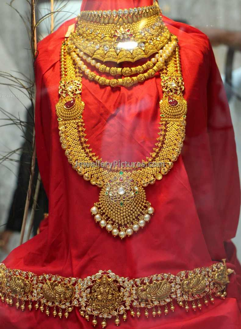 Indian Gold Jewellery Latest Collection - Jewellery Designs