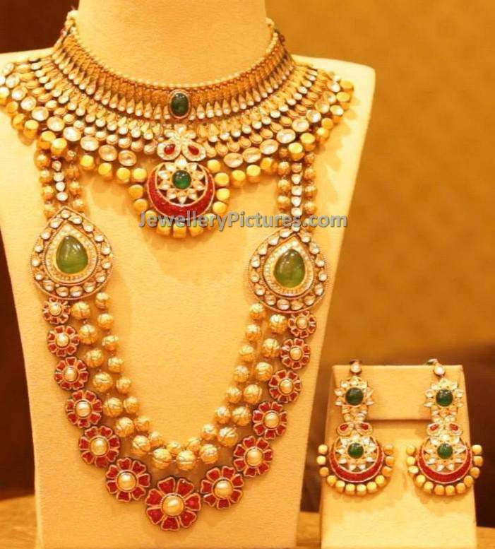 Indian Jewellery Designs for Wedding - Jewellery Designs