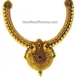 Indian Gold Necklace Designs Catalogue