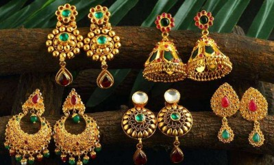 josalukkas gold earrings collection