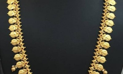 south indian gold jewellery designs of kasulaperu