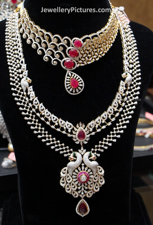 Latest Diamond Jewellery Designs - Jewellery Designs