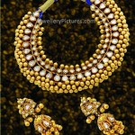 Latest Gold Set Designs Necklace and Earrings