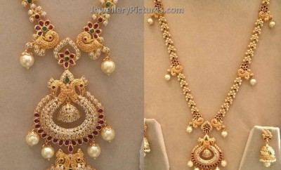 latest haram designs with earrings